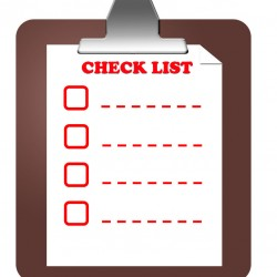 Checklist Audit List