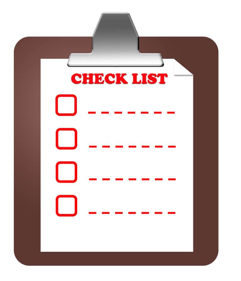 COBRA Checklist Audit List